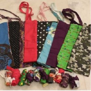 Cloth Bags Initiative by New Delhi Nature Society NGO in New Delhi-help save environment against plastic